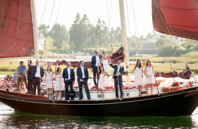 Weddings at The Nonantum Resort.