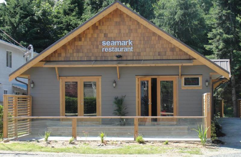 Seamark Restaurant at The Shorewater Resort.