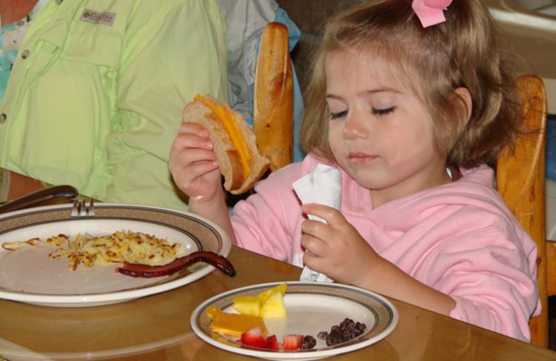 Delicious meals at Latigo Ranch
