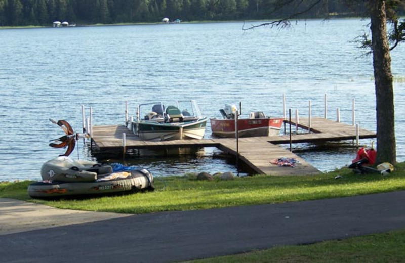 Boats by the Dock at Royal Starr Resort