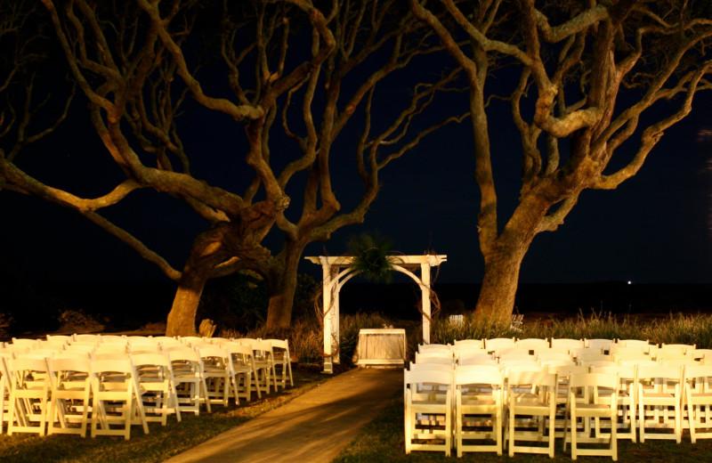 Wedding reception at The Beachview Club.