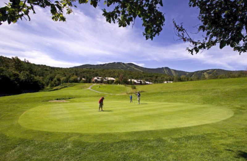 Golf course near The Mountain Inn.