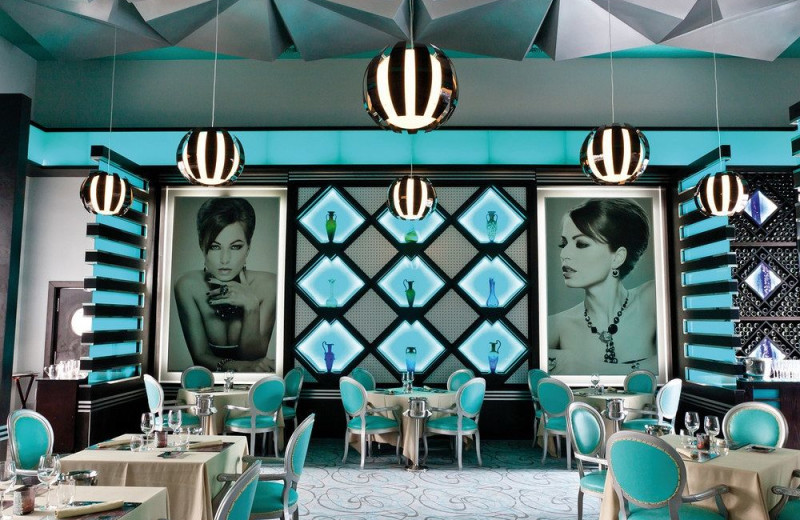 Dining room at RIU Palace Mexico.