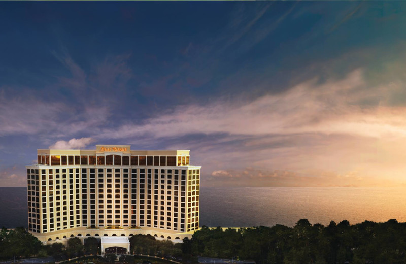 Exterior view of Beau Rivage Resort & Casino.