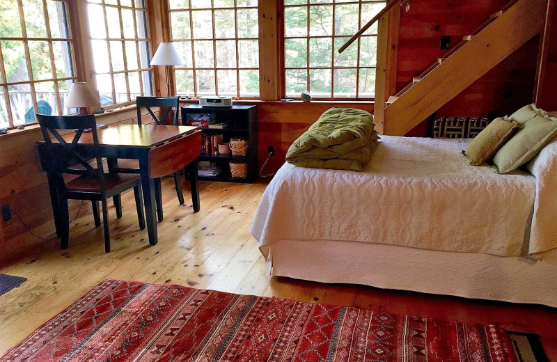 Rental interior at Acadia Cottage Rentals.
