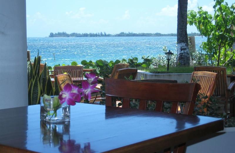 Dining at Hotel La Playa.