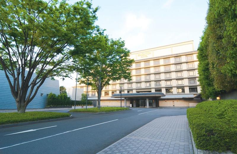 Exterior view of Kyoto Brighton Hotel.