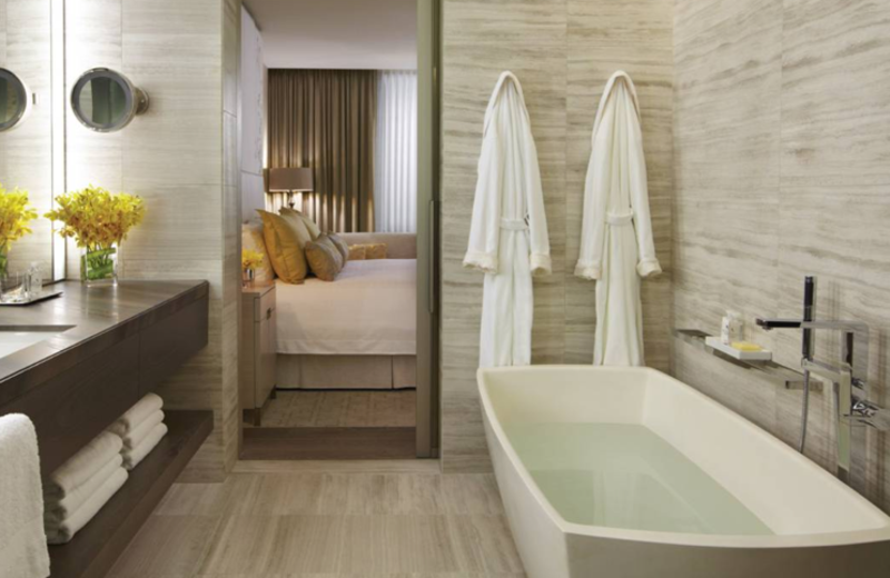 Guest Bathroom at the Four Seasons Hotels & Resorts