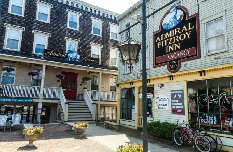 Exterior view of Admiral Fitzroy Inn.