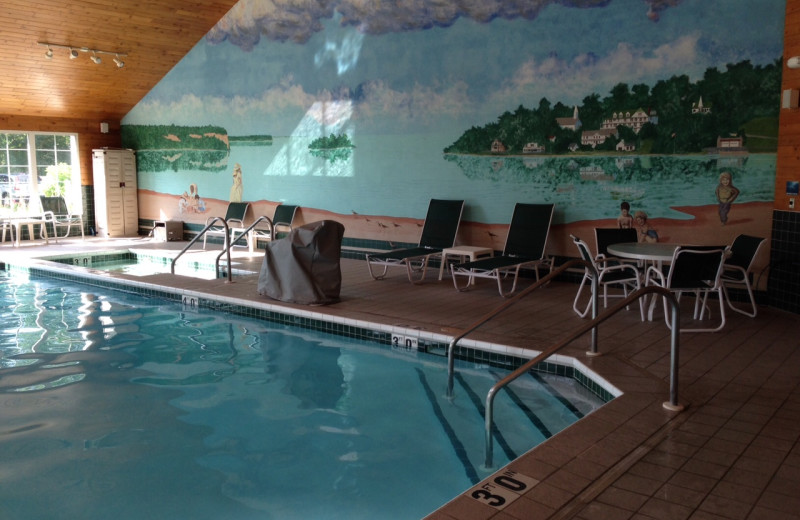 Indoor pool at High Point Inn.
