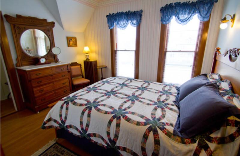 Guest room at Scandinavian Inn.