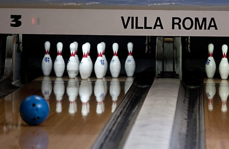 Bowling at Villa Roma Resort and Conference Center.
