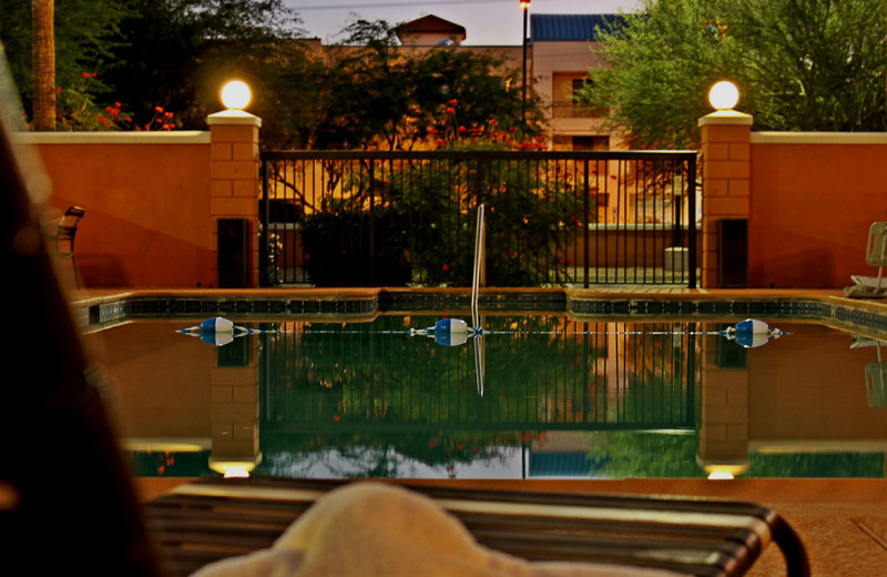 Outdoor pool at Hyatt Place Tucson.