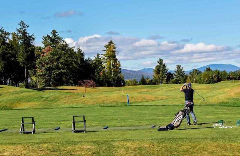 Golf course at Owl's Nest Resort & Golf Club.