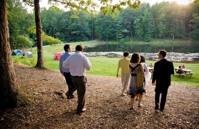 Lakeside Wedding at Montfair Resort Farm