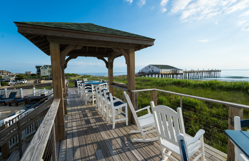 Deck at Hilton Garden Inn Outer Banks/Kitty Hawk.