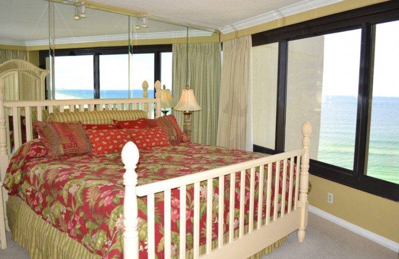 Guest room at Gibson Beach Rentals.