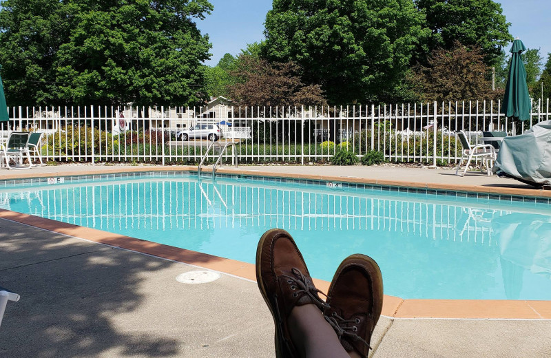 Outdoor pool at High Point Inn.