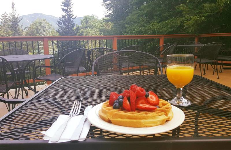 Breakfast at Silver Fox Inn.