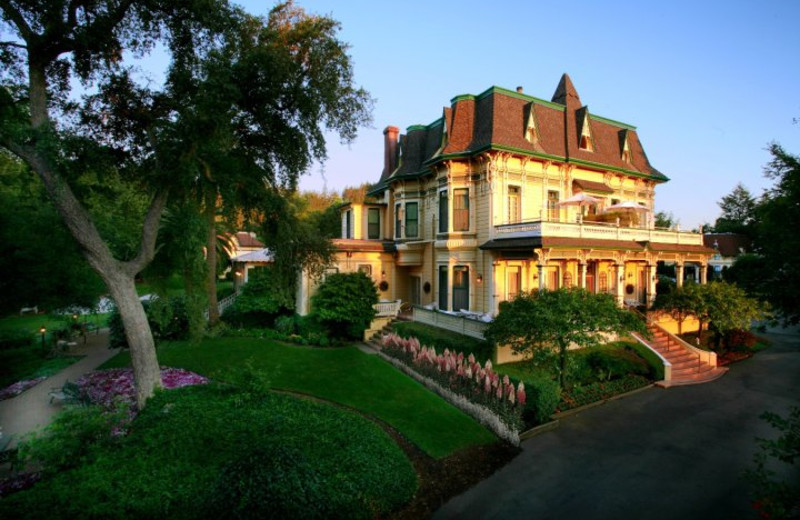 Exterior view of Madrona Manor.
