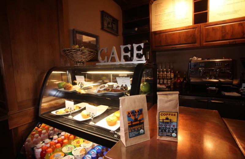Cafe at The Lodge at Whitefish Lake.
