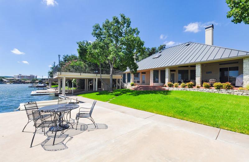 Rental patio at All Seasons Accommodations, Inc.