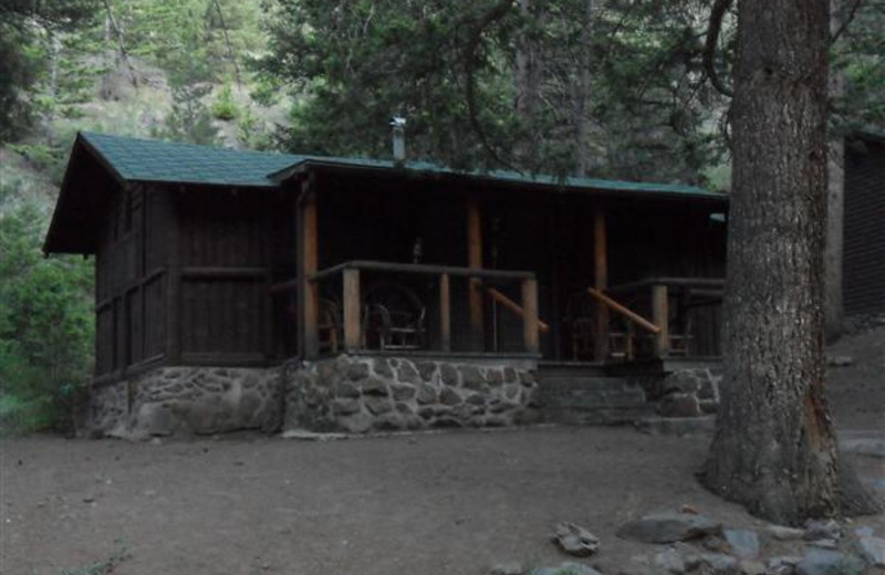 Cabin Exterior at Bill Cody Ranch