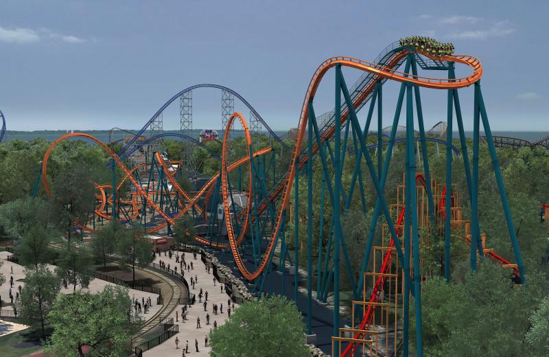 Amusement park near Hilton Garden Inn Cleveland East/Mayfield Village.