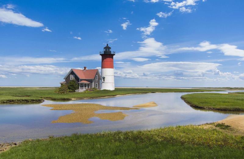 Lighthouse near Beach Realty.