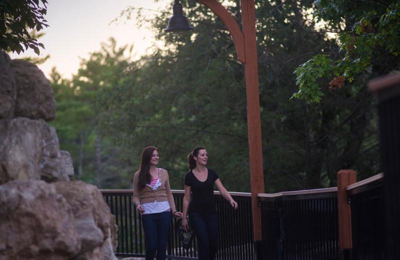 River walk at Chula Vista Resort.