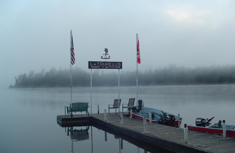 The dock at La Tourell.