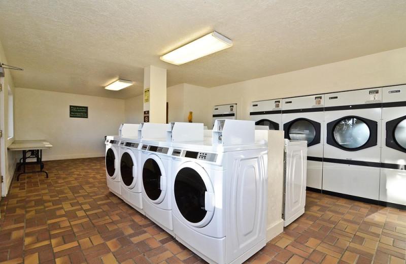 Laundry facilities at Ruby's Inn.