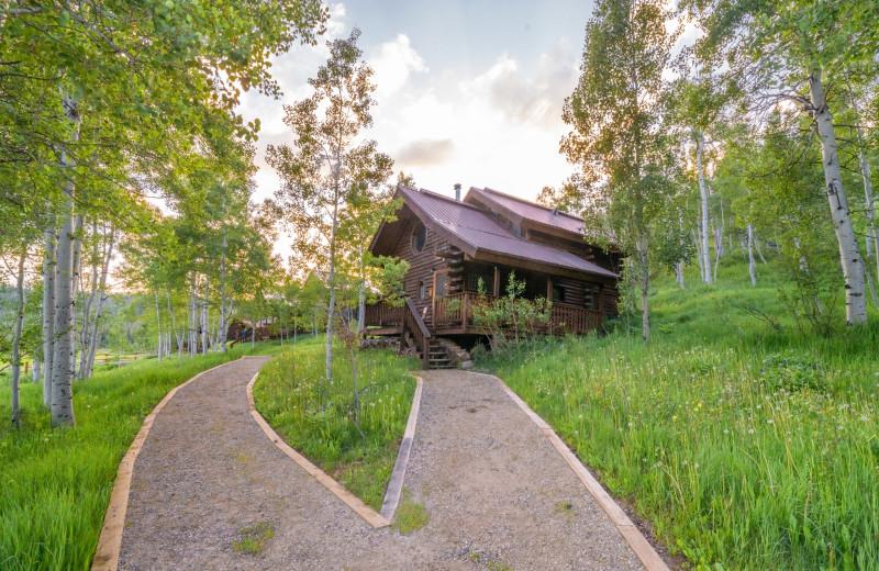 Cabins at Vista Verde Ranch.
