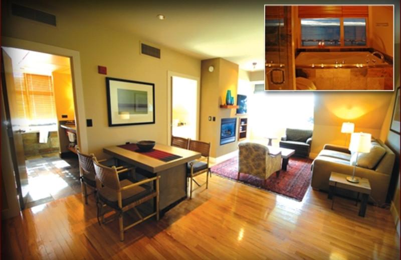Suite Interior at The Chrysalis Inn