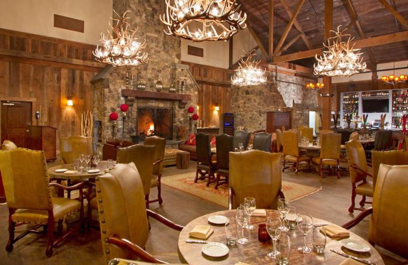 Dining at Mountain Creek Resort.