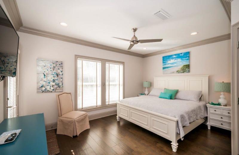 Rental bedroom at Destin Getaways.