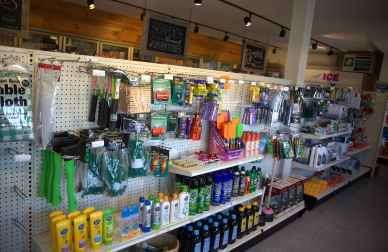 Daily necessities and goodies are easy to find in our 2,500 square foot, Vermont-style General Store.