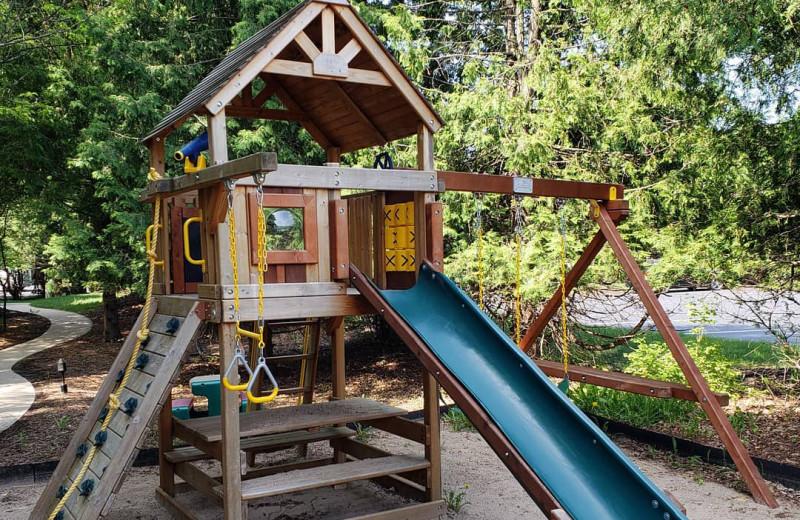 Playground at High Point Inn.