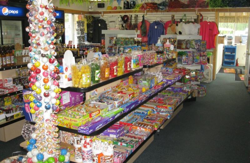 Store at Smokey Hollow Campground
