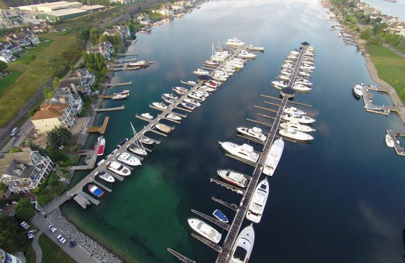 Marina at Bay Harbor Village Hotel & Conference Center.