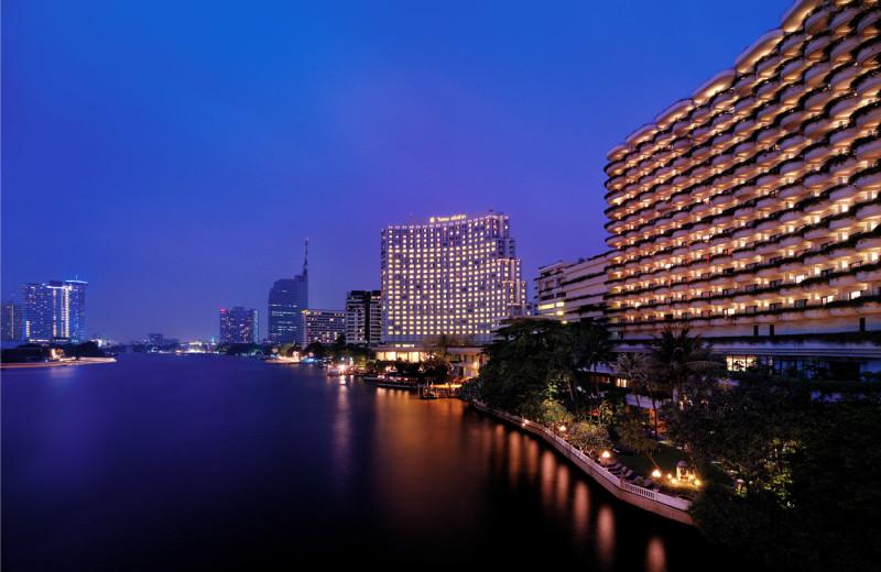 Exterior view of Shangri-La Hotel-Bangkok.