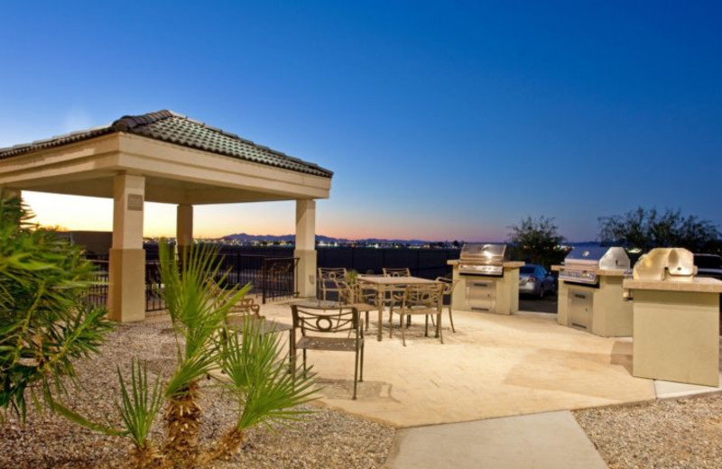 Patio at Candlewood Suites YUMA.