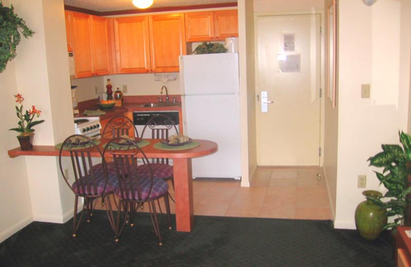 Kitchen view at Westgate.