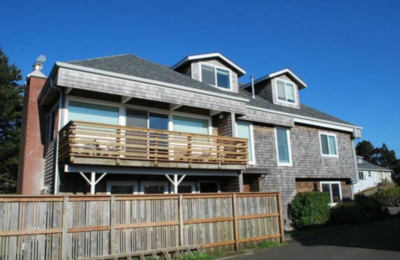 Rental exterior at Beachhouse Vacation Rentals.