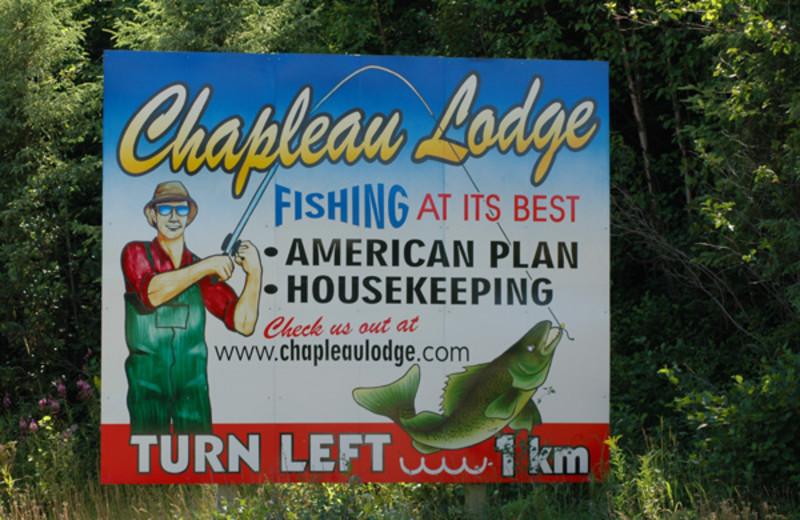Fishing at Chapleau Lodge