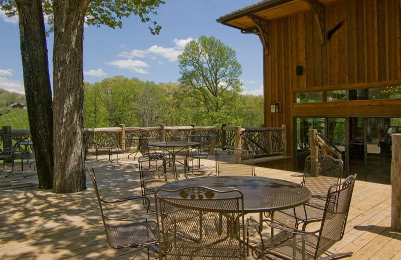 Patio at Laurel Ridge Country Club & Event Center.