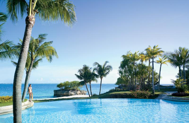 Outdoor pool at Shangri-La's Mactan Island Resort.