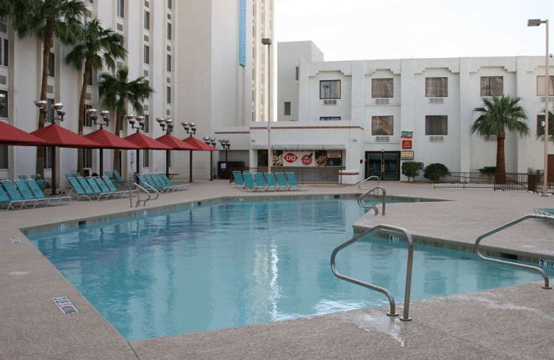 Outdoor pool at Edgewater Hotel & Casino.