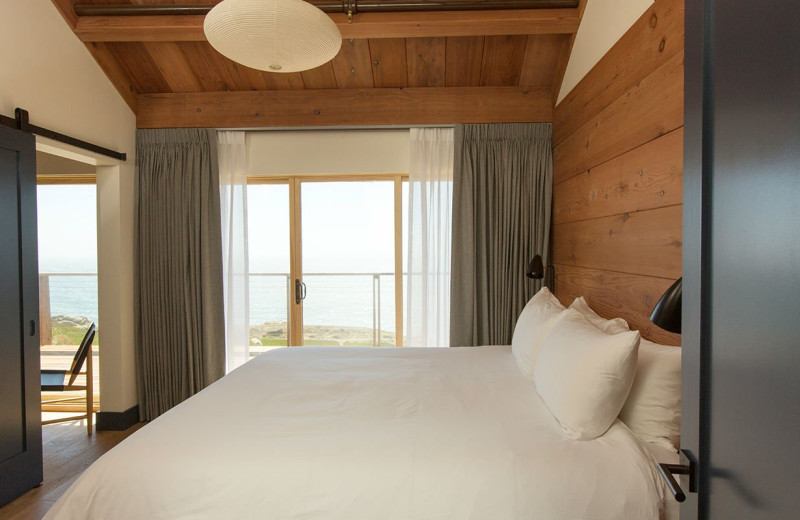Guest room at Timber Cove Inn.