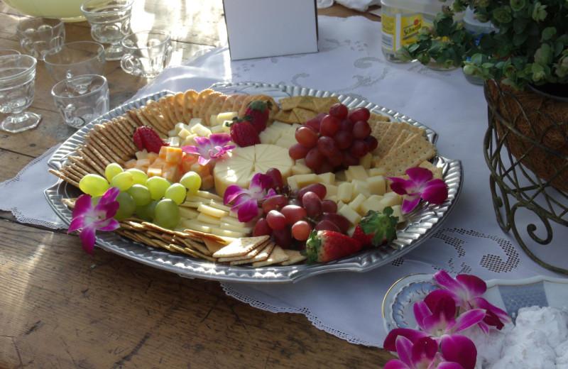 Dining at Cibolo Creek Ranch.
